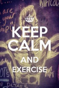 keepcalmexercise