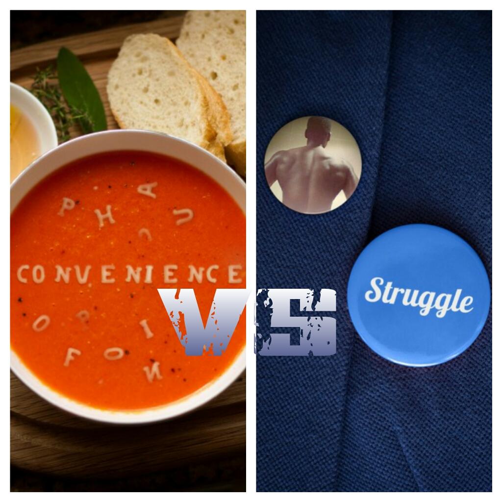 convenience v struggle