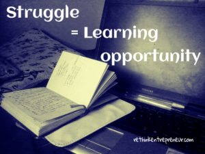 struggle is learning
