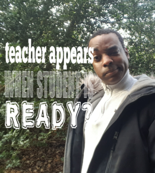 Does the teacher appear when the student is ready?