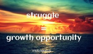 struggle growth