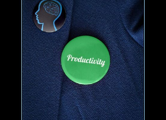 Productivity is a matter of habit